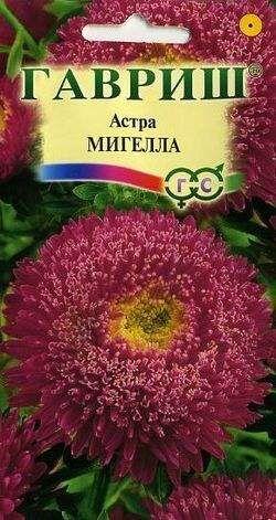 Астра Мигелла, однолетняя (принцесса темн-розов.) 0,3 г DHп