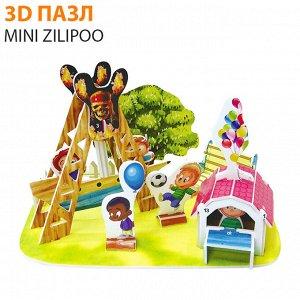 """3D пазл Mini Zilipoo """"Пиратский корабль"""""""