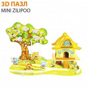 "3D пазл Mini Zilipoo ""Мультяшный рай"""