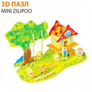 """3D пазл Mini Zilipoo """"Лесной домик 3"""""""