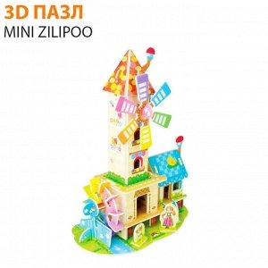 """3D пазл Mini Zilipoo """"Лесной домик 2"""""""