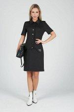 Платье Тереза №1.Цвет:черный