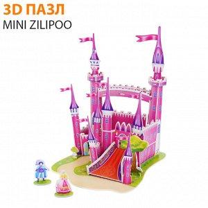 """3D пазл Mini Zilipoo """"Розовый замок"""""""