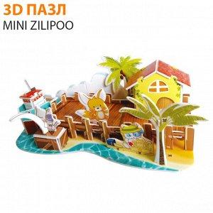 "3D пазл Mini Zilipoo ""Рыбацкая Пристань"""