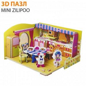 """3D пазл Mini Zilipoo """"Кухня"""""""