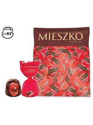 Конфеты Вишня в ликере Миешко