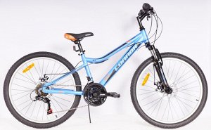 "Велосипед CONNOR JUNIOR MTB 24"" (B) FS 18SP RA25-251 (синий)"