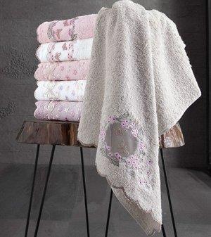 Набор полотенец  ARMONI бамбук (2шт) (50*90,70*140) белый