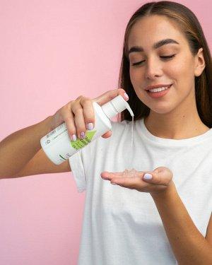 Увлажняющий и успокаивающий гель для тела  «Dorefglow face and body care»