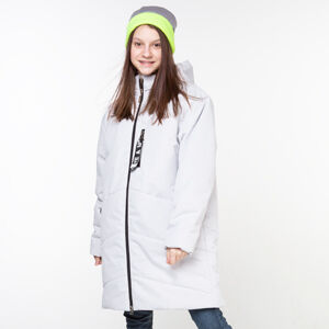 М 101023/2 (серый) Пальто для девочки