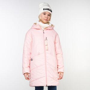 М 101023/4 (розовый) Пальто для девочки
