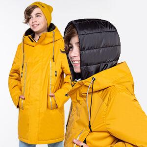 101030/2 (серый) Куртка для мальчика