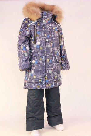 Костюм зимний на мальчика модель Тау