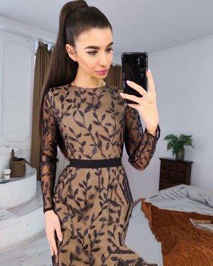 Платье Ткань атлас + кружево,длинна 103см