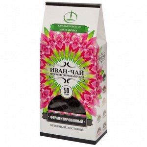 """Напиток чайный """"Иван-чай""""  листовой 50 г пачка"""