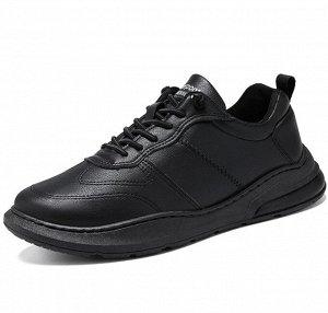 Мужские кроссовки, цвет черный