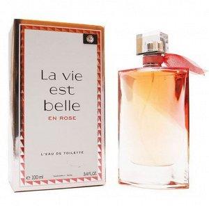 EU Аромат по мотивам  Lancome La Vie Est Belle En Rose For Women edt 100 ml