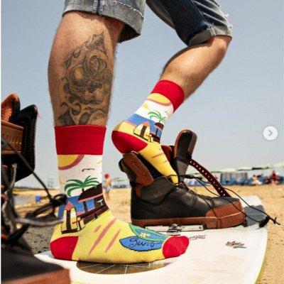 Hobby Line - носки для всей семьи! Яркие, классика — Яркие! Интересные принты! Муж+жен — Носки