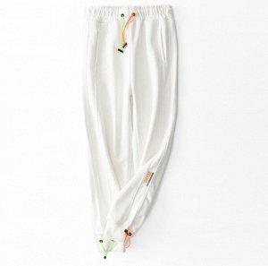 Штаны спортивные, цвет белый
