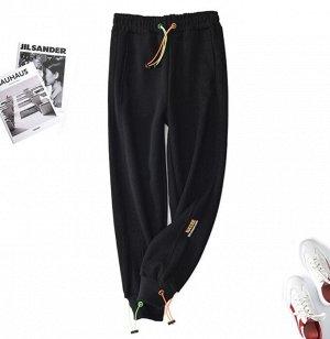 Штаны спортивные, цвет чёрный