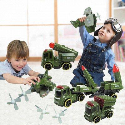 Самые необходимые, самые любимые — детские игрушки в наличии — Военная техника — Машины, железные дороги