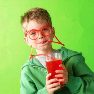Трубочка/очки для напитков 1 шт