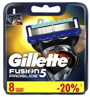 FUSION ProGlide Сменные кассеты для бритья 8шт