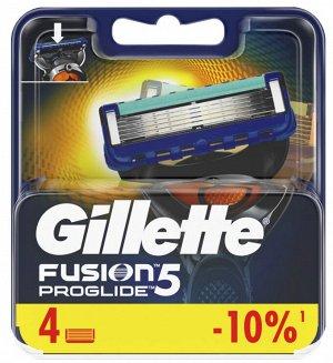 GILLETTE FUSION ProGlide Сменные кассеты для бритья 4шт