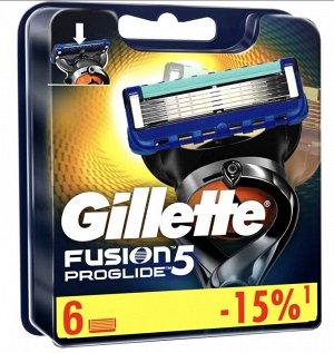 FUSION ProGlide Сменные кассеты для бритья 6шт