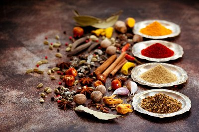 💥Крымская 100% морская розовая соль со специями — Индийские специи, разнообразие привычных блюд — Универсальные