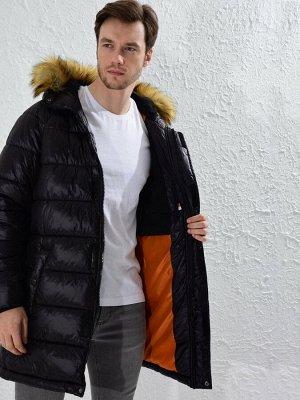 Парка Длина рукава: Длинный рукав Толщина: Толстая Тип товара: Парка Длина: Длина пальто Воротник: Стойка Капюшон: С капюшоном Материал подкладки: Утепленная подкладка Размерный ряд модели: L, M, XL,