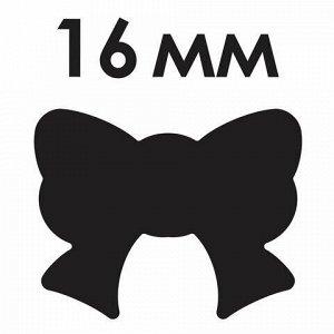 """Дырокол фигурный """"Бантик"""", диаметр вырезной фигуры 16 мм, ОСТРОВ СОКРОВИЩ, 227150"""