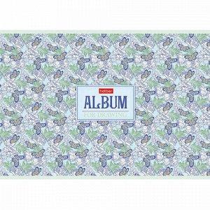 "Альбом для рисования А4 32 л., скоба, матовая ламинация, HATBER, 205х290 мм, ""Аромат грез"", 32А4лтВ"