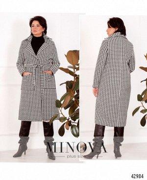 Пальто №931-чёрный