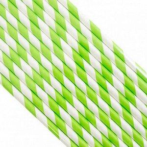 Палочки бумажные Лента Зеленая 200*6 мм, 25 шт