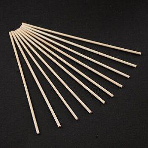 Палочки для сахарной ваты и леденцов, длина 20 см, d=3 мм, 10 шт