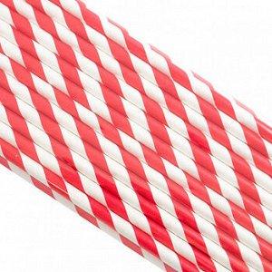 Палочки бумажные Лента Красная 200*6 мм, 25 шт