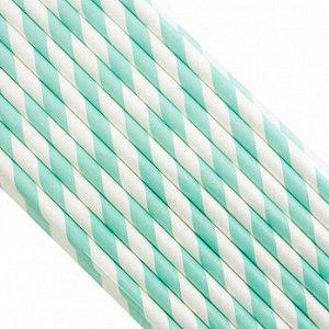 Палочки бумажные Лента Изумрудная 200*6 мм, 25 шт