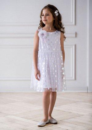 Фадея нарядное платье белый