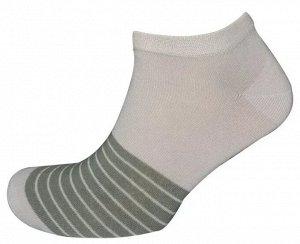 Носки муж. Comandor арт. 013-1 Десять полос серый-меланж/хаки