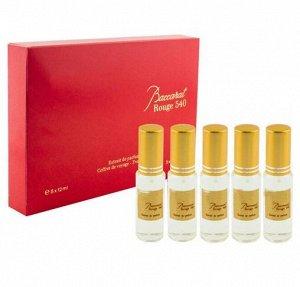 Подарочный набор аромат по мотивам Maison Francis Kurkdjian Baccarat Rouge 540 Extrait de Parfum 5x12 ml