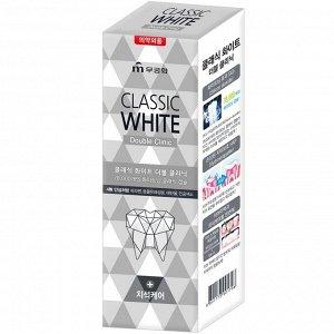 Зубная паста «Classic White» отбел зубная паста двойного действия с микрогр с аром мяты 110 гр