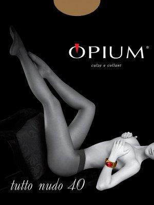 Колготки Женские Opium Tutto Nudo 40 bronzo