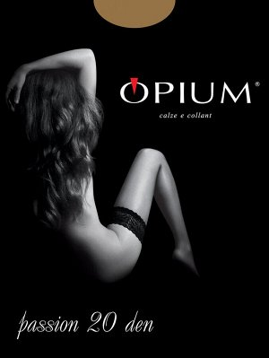 Чулки Женские Opium Passion 20 nero