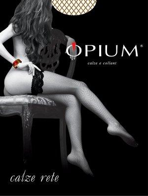 Чулки Женские Opium Calze Rete visone