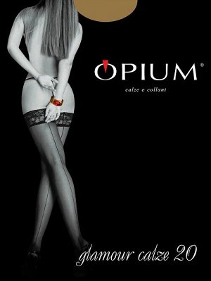 Чулки Женские Opium Glamour Calze 20  visone