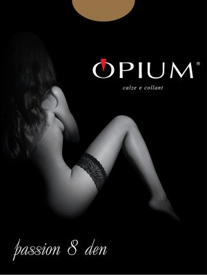 Чулки Женские Opium Passion 8  visone