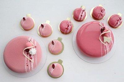 Украшение тортов, мастика-огромная закупка кондитеров — Для Муссовых тортов и пирожных — Выпечка