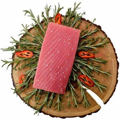 Крабовое мясо в подарок — Стейки тунца по лучшей цене! — Рыбные
