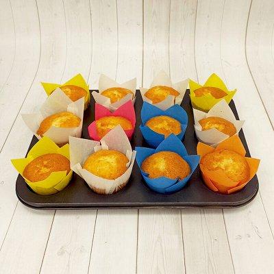 Украшение тортов, мастика-огромная закупка кондитеров — Формы-тюльпан для выпечки — Выпечка